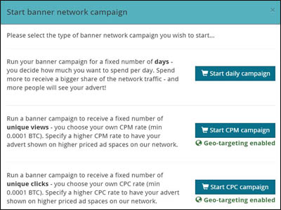 banner network campaign